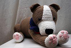 Ravelry: Staffordshire (Stafford) Bull Terrier Pit Bull crochet pattern! pattern by Natasja Suselbeek