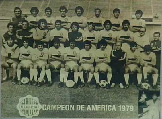 Formación titular del Campeon de America de 1979