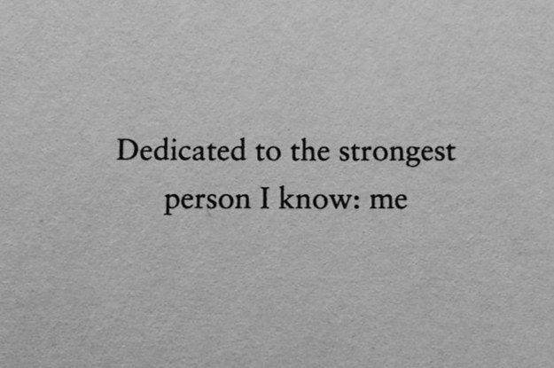 Community Post: 26 Of The Greatest Book Dedications You Will Ever Read