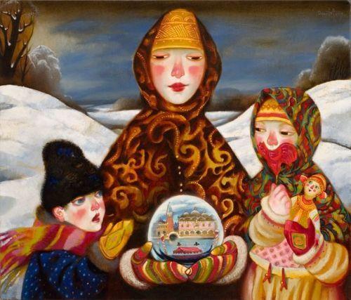 Alexander Daniloff, Ritorno dalla fiera