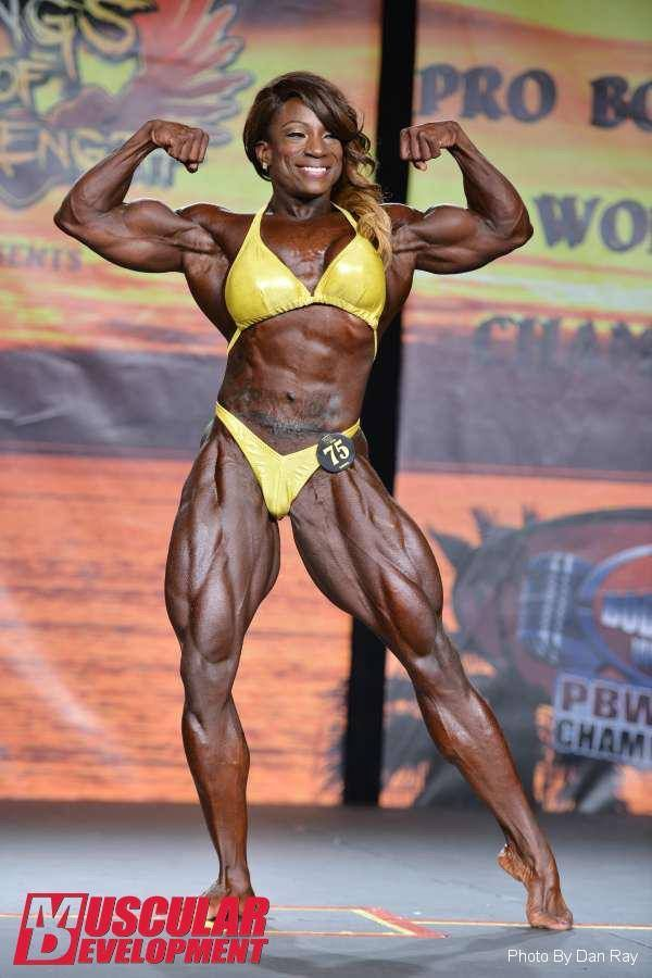 Margie Martin Rocking Her Suit On Stage In Ifbb Tampa Pro