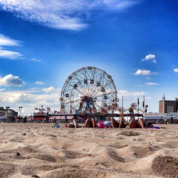 Coney Island Beach & Boardwalk in Brooklyn, NY