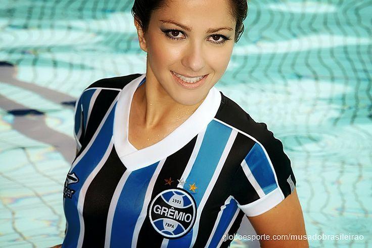 globoesporte - Terceiro ensaio: Musa do Grêmio - fotos em musa do brasileirão 2013