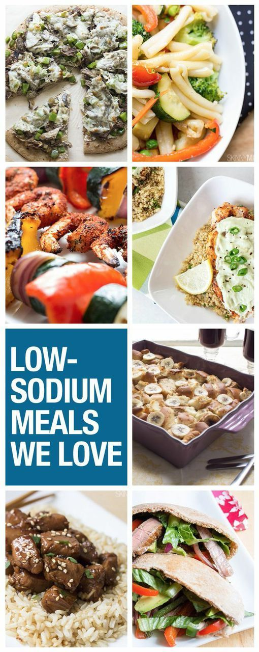 The perfect low sodium recipes!
