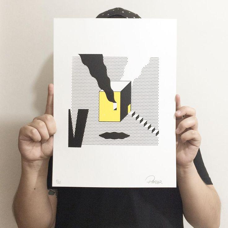 22 obras impresas en serigrafía, sobre papel acid free Smarthmore de 28x38 cms. / 300 gms.