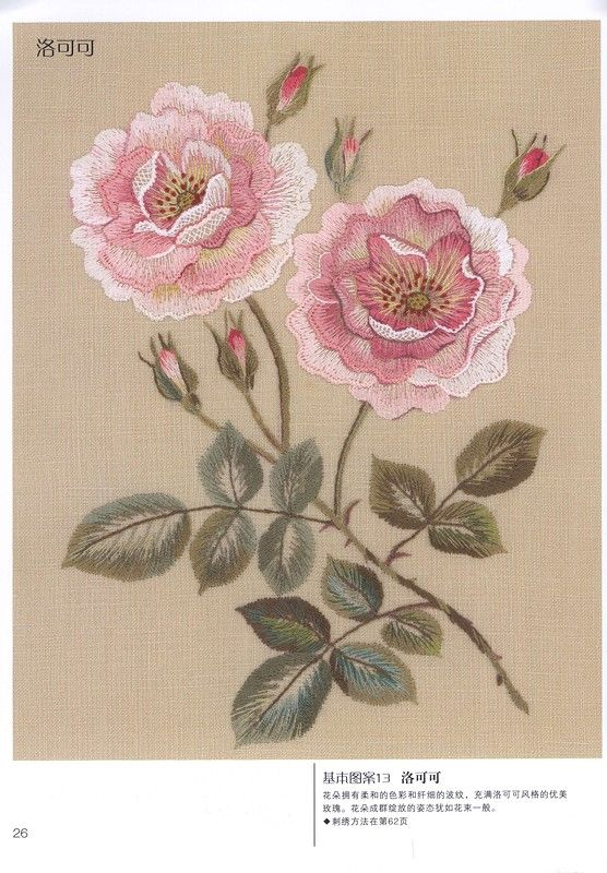 giftjap.info - Интернет-магазин   Japanese book and magazine handicrafts - Totsuka Embroidery. Rose Collection