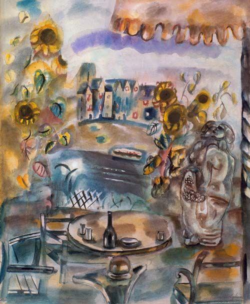 Frances Hodgkins, 'Pleasure garden'