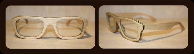 Our Ashton in maple and green rim inlays