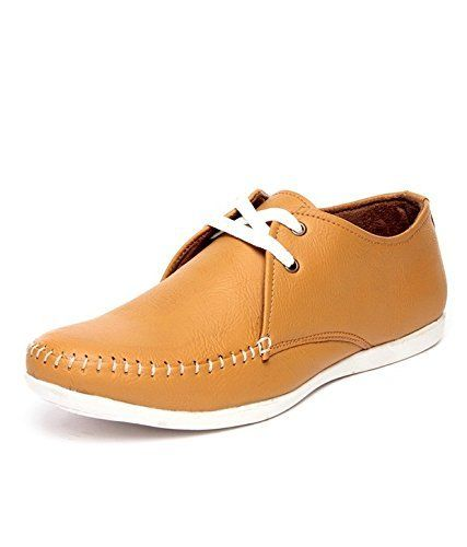 #Rosso Italiano Men Tan #Synthetic Loafers & #Mocassins