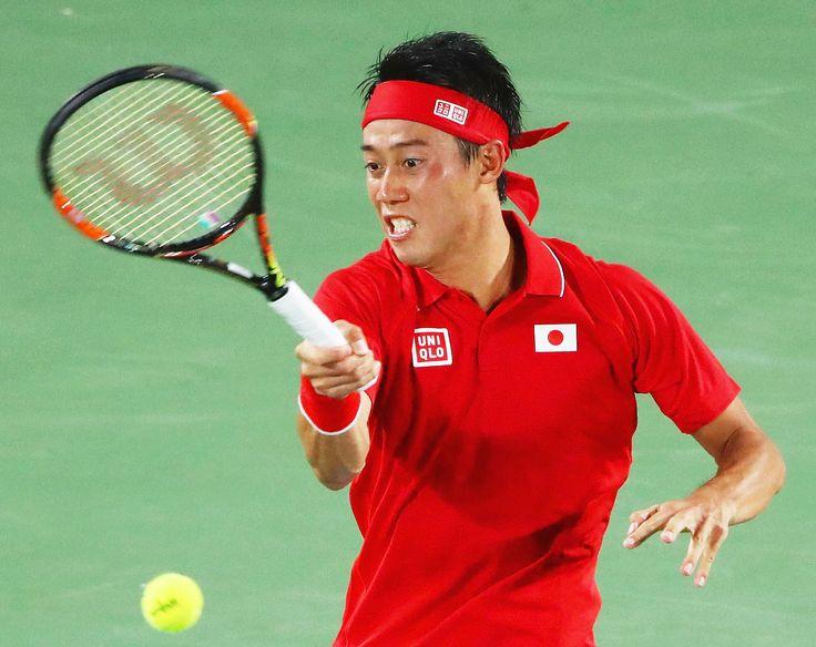 【速報】錦織 ストレート勝ちで五輪2大会連続8強、日本96年ぶりメダルに前進<男子テニス> #テニス #リオ五輪