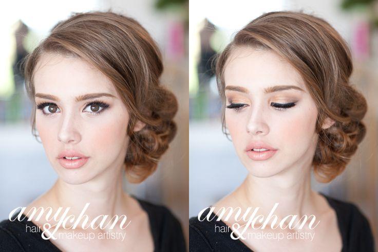 {Natural soft makeup} Hair & Makeup by Amy Chan Hair & Makeup Artistry