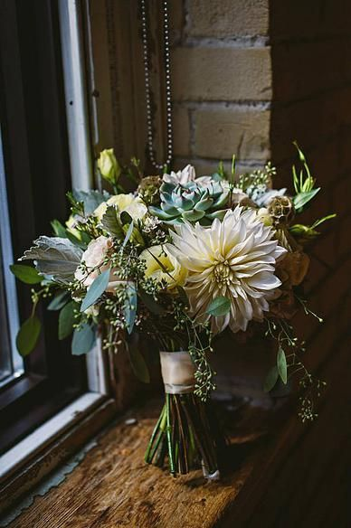 Muted and beautiful bouquet.