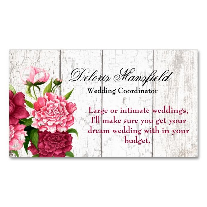 2192 best rustic business card templates images on pinterest cottage chic rustic wood and peonies business card reheart