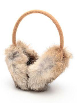 Rabbit ear muff / Natural Beauty(ナチュラル ビューティー) エヌ ラビットファーイヤーマフ shopstyle.co.jp
