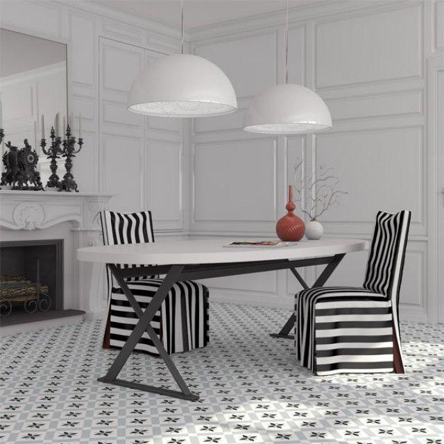 Deco Calvert Grey Floor tile 200x200x8mm