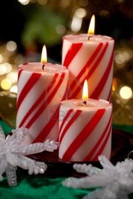 Christmas Lights Candles