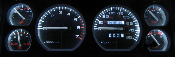 JEEP CHEROKEE XJ 1984 - 1996 WHITE LED SPEEDOMETER, GAUGE & DASH LIGHT KIT | eBay Motors, Parts & Accessories, Car & Truck Parts | eBay!