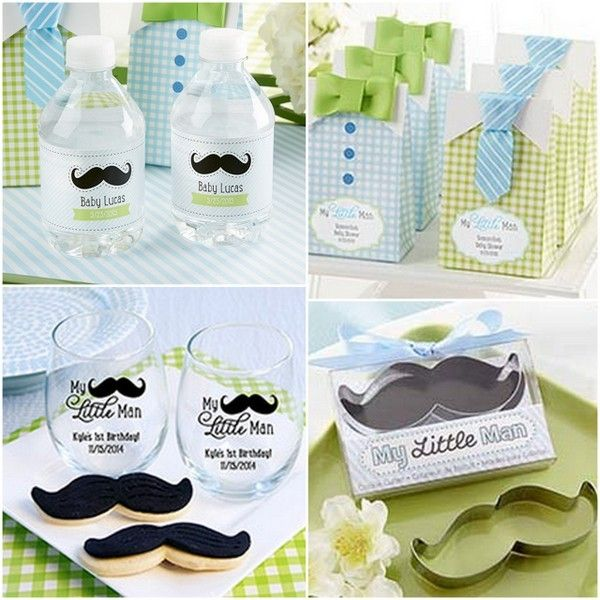 My Little Man Party Favors from HotRef.com #mylittleman