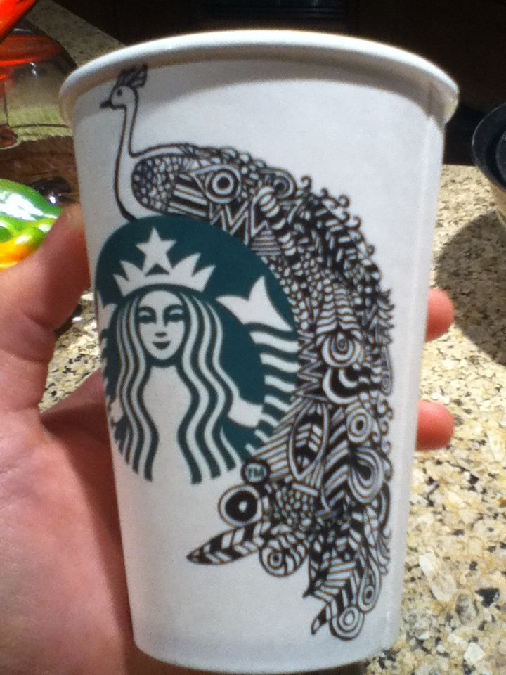 Starbucks Coffee Halloween Costume