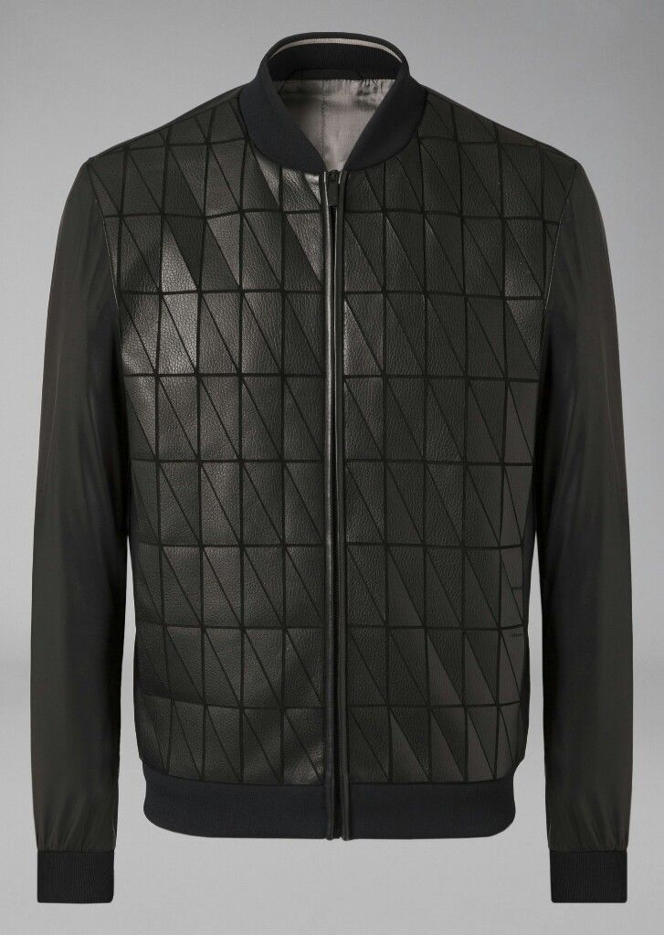 Giorgio Armani leather jacket