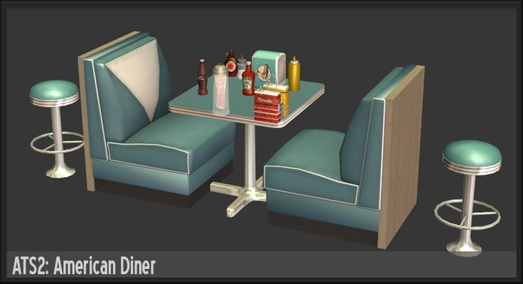 Around the Sims 2 | Objects | Downtown | American Diner