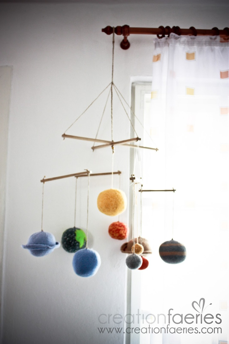 paper solar system mobile - photo #8