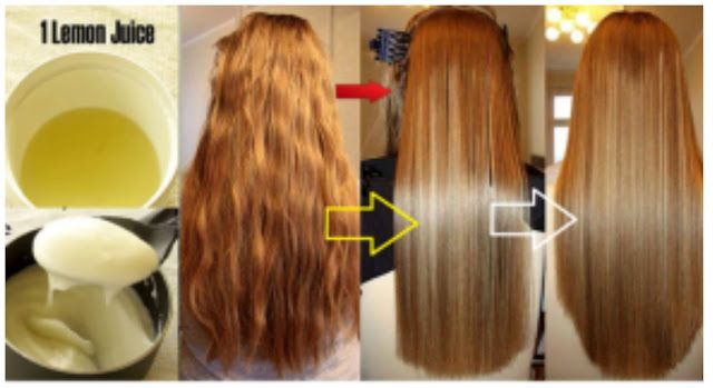 2 Ingredient Mask To Get Permanent Straight Hair, Try This Natural Remedy  #healthtips #homeremedies #naturalremedies