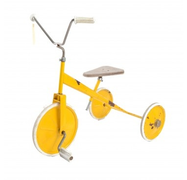 Petit vélo jaune