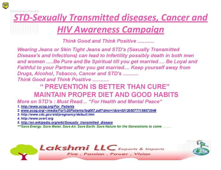 STD Awareness Campaign