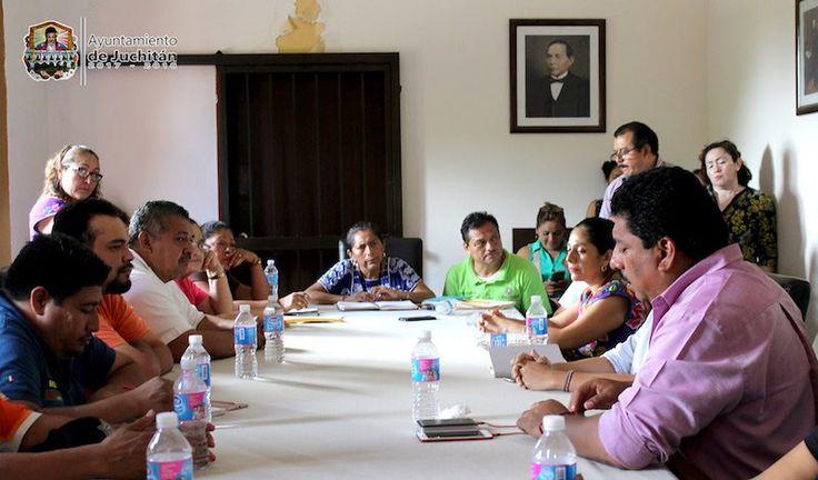 Declaración del ayuntamiento municipal de Juchitán con relación la distribución de las 300 despensas entregadas por la Cruz Roja mexicana.
