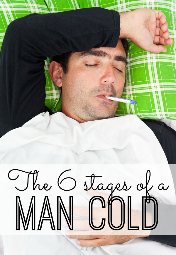 The 6 stages of a Man Cold - oh my this is too funny :)