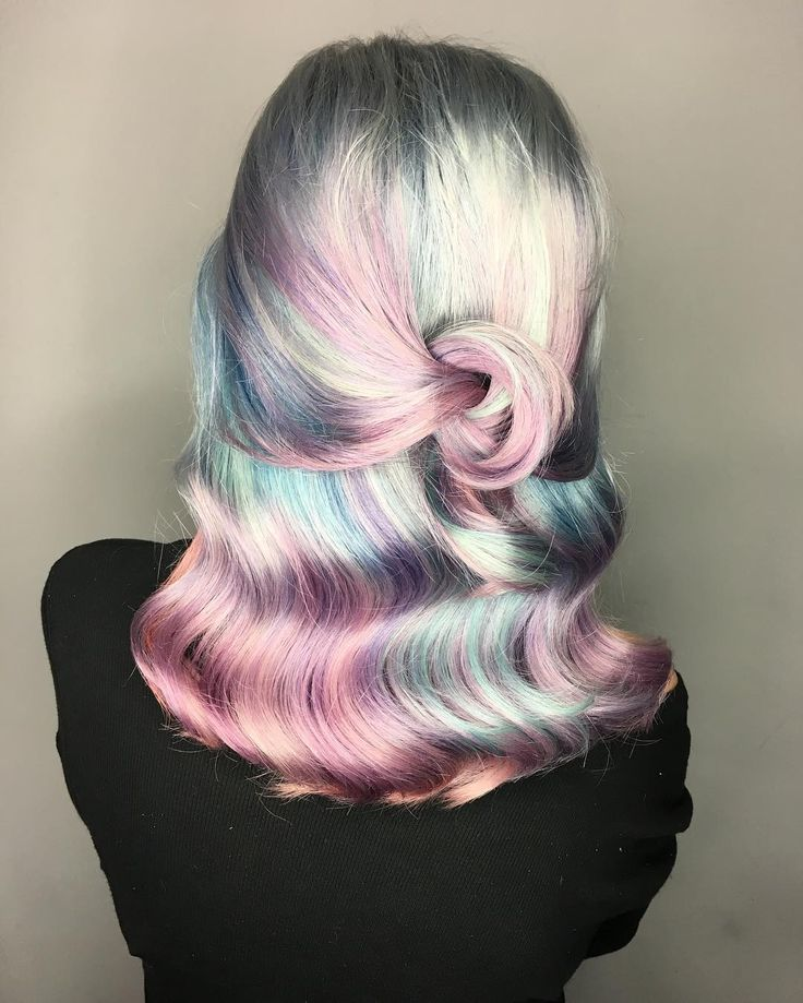 "1,866 Likes, 38 Comments - VANCOUVER BALAYAGE|VIVIDS (@elissawolfe) on Instagram: ""☁️Cotton Candy Clouds☁️ I love the new @joicointensity metallics! My #metallicmuse does too! That…"""