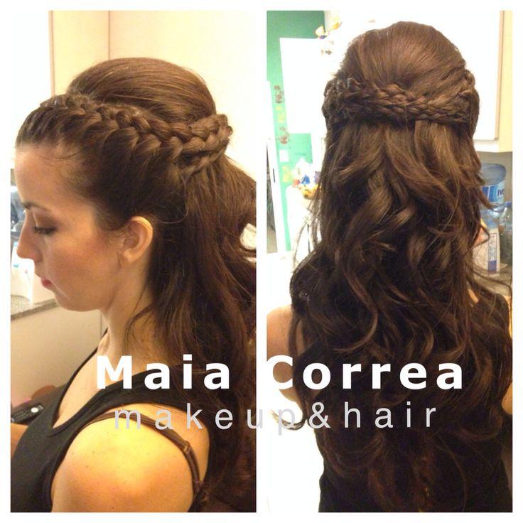 Peinado con trenzas #hair #braids