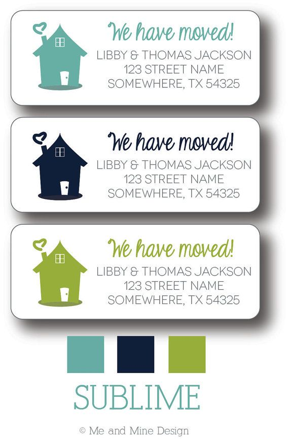 24 best Label it!! images on Pinterest Etsy shop, Return address - mailing address labels template
