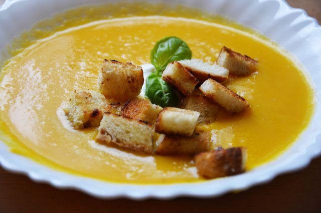Przyszła jesień - zupa dyniowa :)