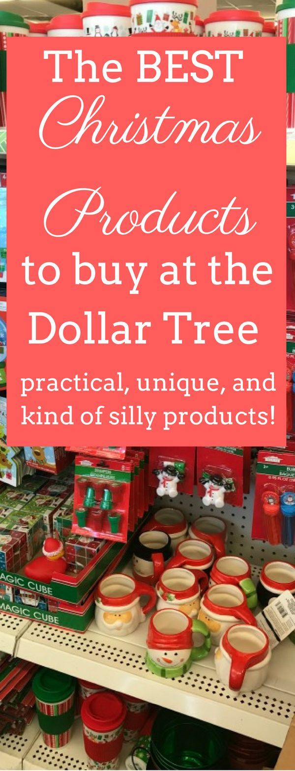 The best Christmas finds at the Dollar Tree!