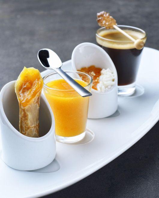 Le café gourmand des Toqués du fruit