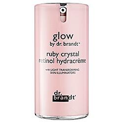 glow by dr. brandt™ ruby crystal retinol hydracrème #sephoracolorwash