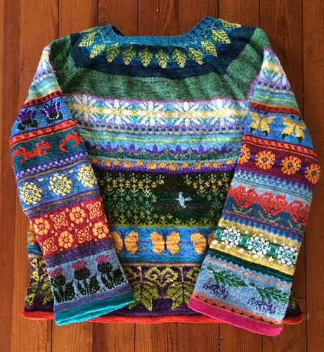 Ravelry: Project Gallery for Whiteleaf pattern by Wool + Bricks