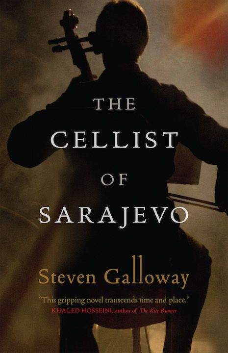 "Around the World in 80 Books: ""The Cellist of Sarajevo"" by Steven Galloway (Bosnia and Herzegovina) 