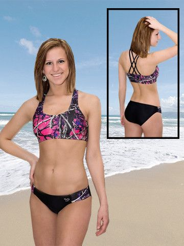 Camo I Swimsuit Sports Set from American Outdoor Woman