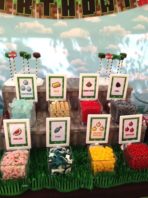 Leve o mundo do jogo Minecraft para a sua Festa Infantil com essas dicas para você criar a Festa Minecraft perfeita!