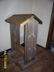 how to make a wood saddle rack