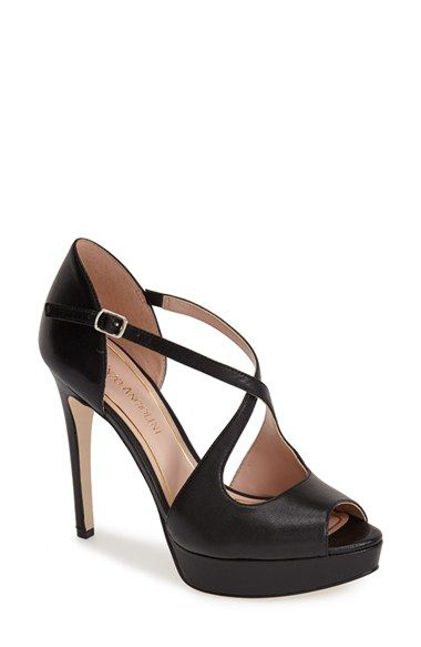 Free shipping and returns on Enzo Angiolini 'Abalina' Platform Pump (Women) at Nordstrom.com. A peep-toe platform sandal accented with slim, crossed straps adds a bold retro-chic element to your look.