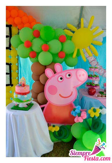 ideas para fiesta de cumpleaos con los personajes de peppa pig la cerdita peppa