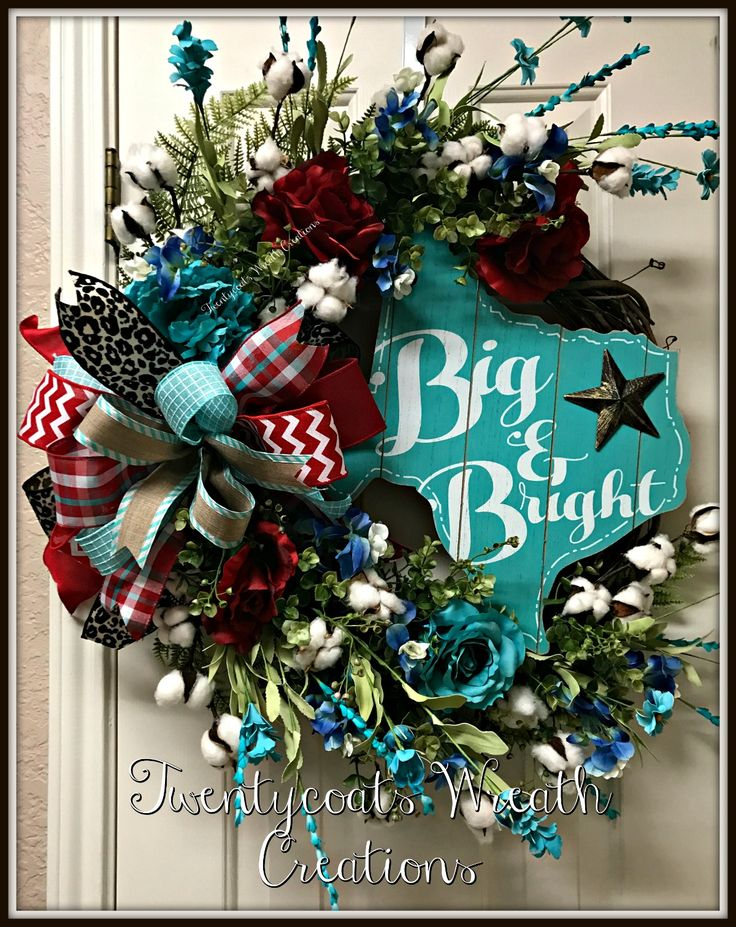 The stars at night are big and bright Deep in the heart of Texas! By Twentycoats Wreath Creations (2017)