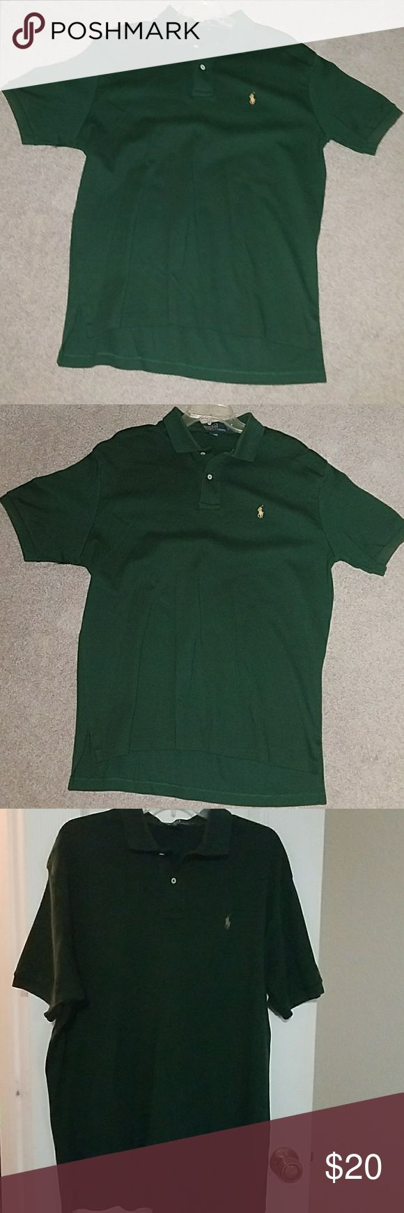 Polo Shirt Hunter green polo shirt. Polo by Ralph Lauren Shirts Polos