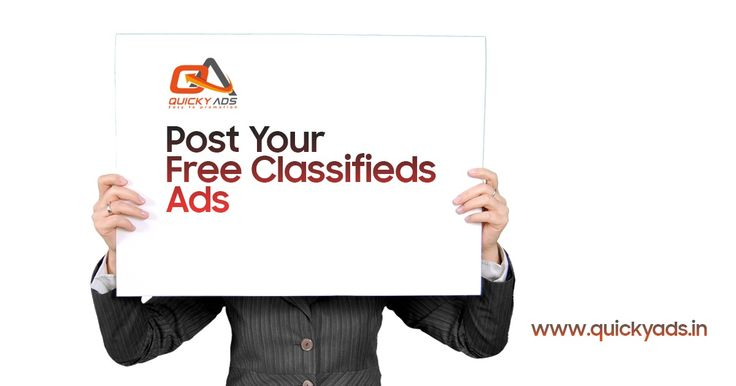 SELL & PROMOTE ONLINE @quickyads.in   Quicky Ads is the best free classified website to post free ads around the world. For more info  https://goo.gl/CYsUzS #Freeclassifedsites