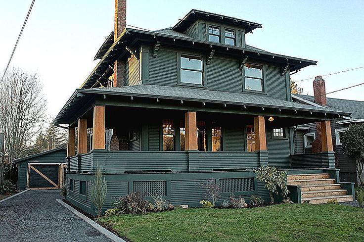 588 best craftsman homes images on pinterest sweet home for Portland craftsman homes
