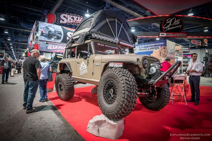 All The Jeeps At Sema 2018 Jeep Willys Jeep Jeepster Commando